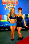 Juliana Malacarne (L) - Priscila Cavilha (R)