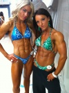 Jamey Peters (L) Amber Jacobs (R)