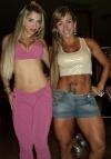 Priscila Freitas (L) Geisa Vitorino (R)