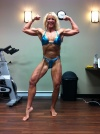 Girl with muscle - Linda Brodeur