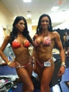 Girl with muscle - Nadia Maria Salvino (L) - Jayla Miller-McDermott (