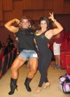 Girl with muscle - Kaprice Goncalves (L) - Day Oliveira (R)