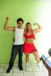 Girl with muscle - Sheila Vieira