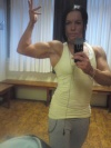 Girl with muscle - Lill Nikolaisen
