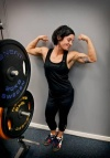 Girl with muscle - Zahra
