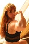 Girl with muscle - rhonda dethlefs