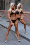 Betsy and Shelly Albetta (twins)