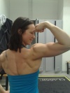 Girl with muscle - Anne-Mari Lyytinen