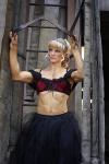 Girl with muscle - Aurelia Grozajova