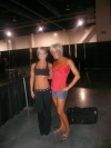 Girl with muscle - Jamie Eason(left)