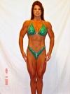 Girl with muscle - Carlene Steenekamp