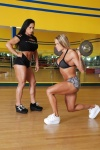 Girl with muscle - Monica Martin / Larissa Reis
