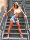 Girl with muscle - danielle hollenshade