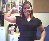 Girl with muscle - Jessica Forsman