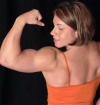 Girl with muscle - Laura Phelps