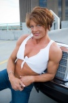 Girl with muscle - Pamela Hannam
