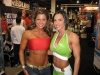 Girl with muscle - diana chaloux (l); ava cowan (r)