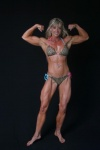 Girl with muscle - Biceps