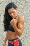 Girl with muscle - Nez Zamorano