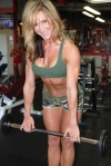 Girl with muscle - Brandie Williams
