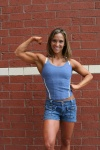 Girl with muscle - Jessica Lyons