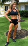 Girl with muscle - liza larence