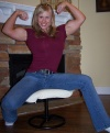 Girl with muscle - Wendy Lindquist