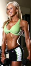 Girl with muscle - Michelle Cogger