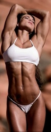 Girl with muscle - Lisa Morton