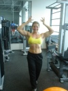 Girl with muscle - auxiliadora barbosa