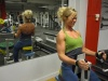 Girl with muscle - Working out