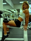 Girl with muscle - deborah straley