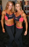 Girl with muscle - Julie Palmer / Jaime Franklin