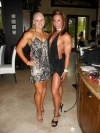 Girl with muscle - Lindsey Cope (l), Lyndsay DeJager (r)