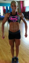 Girl with muscle - Angie Bryant Morales