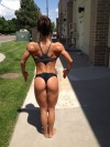 Girl with muscle - Lauren Lessnau