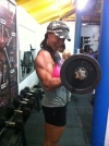 Girl with muscle - Lisa Carrodus
