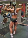 Girl with muscle - Erika Andersson