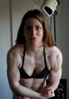 Girl with muscle - Holly Hutchings aka Triangle
