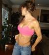 Girl with muscle - Laura Harris aka Chicken Tuna