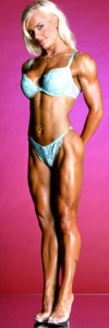 Girl with muscle - Pia Marlen Johnsen