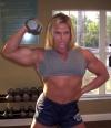Girl with muscle - nuriye sener evans
