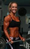 Girl with muscle - Gabriela Cioban
