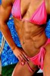 Girl with muscle - angela scheer