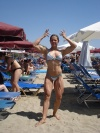 Girl with muscle - auxiliadora barbosa rodrigues