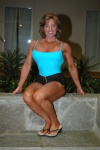 Girl with muscle - pam shealy