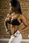 Girl with muscle - Kristelle Sammons
