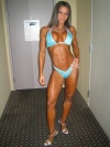 Girl with muscle - christina vargas