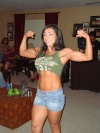 Girl with muscle - Victoria Gutenco ciudesnaia