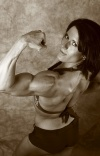 Girl with muscle - jennifer martyniuk